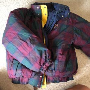 vintage reversible 90s tommy hilfiger jacket